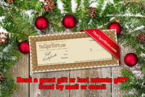 Cigar Christmas Gift Certificate