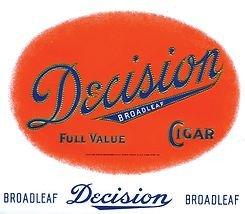 Decision Cigar Bundles