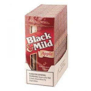 Black & Mild Apple Packs