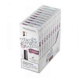 Black & Mild Cream Packs