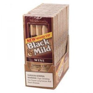 Black & Mild Wood Tip Wine Packs