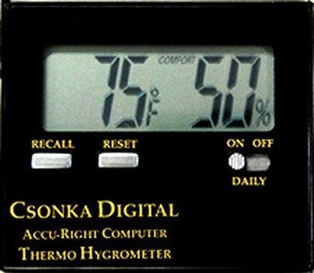 Csonka Digital Accu-Right Thermo Hygrometer