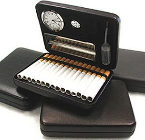 Csonka SmoKit Travel Humidor - Black