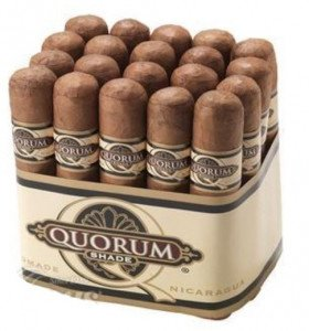 Quorum Shade Grown Short Robusto