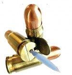 Csonka Brass 44 Caliber Bullet Jet Torch Lighter
