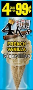Good Times Cigarillos 4 Kings French Vanilla