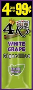 Good Times Cigarillos 4 Kings White Grape
