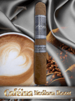 The House of Lucky Cigar Cafeina Box Press Medium Roast Corona