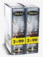White Owl Cigarillos Platinum
