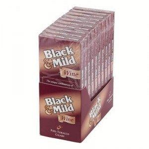 Black & Mild Wood Tip Wine Packs cigar store online